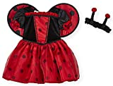 Koala Kids Ladybug 2 Piece Baby Girls Dress Halloween Costume