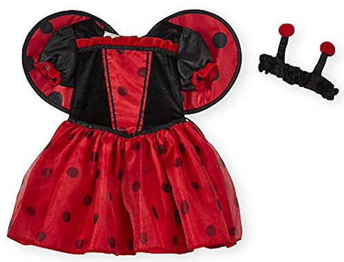 Costume Images Ladybug (Koala Kids Ladybug 2 Piece Baby Girls Dress Halloween Costume (6-9)