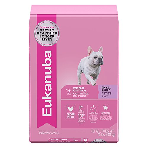 Eukanuba Adult Small Breed Weight Control Dog Food 15 (Boxer Dry Dog Food)