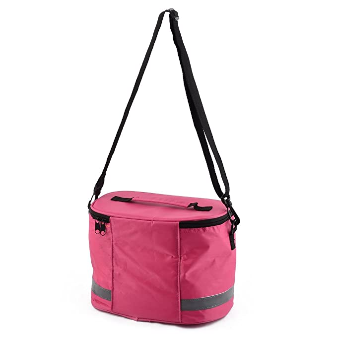 Amazon.com: DealMux Oxford Cloth Outdoor Camping Sports Emergency First Aid Resgate Segurança Armazenamento Rosa Bolsa: Home & Kitchen