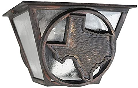 Melissa Lighting Outdoor Ceiling Mount TS53 Western from Lone Star Series Collection in (Lone Star Porch Light)