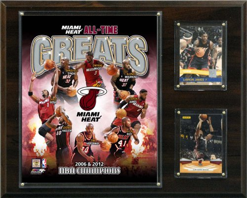 (NBA  Miami Heat All -Time Great Photo Plaque)