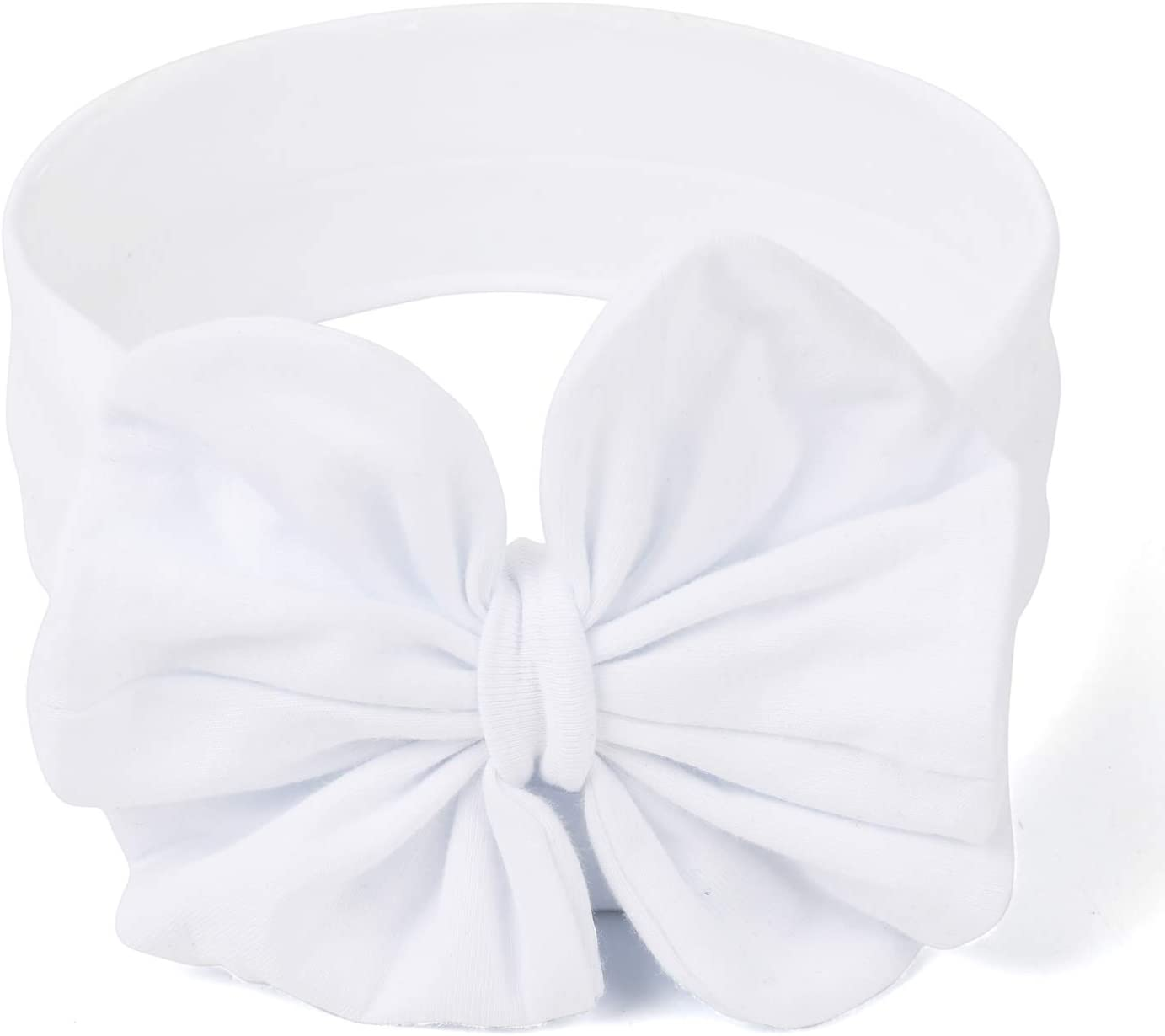 COUXILY Baby Girls Knotted Headbands Turban Knotted Headbands Bow Headbands 03, XS 0-3 Months