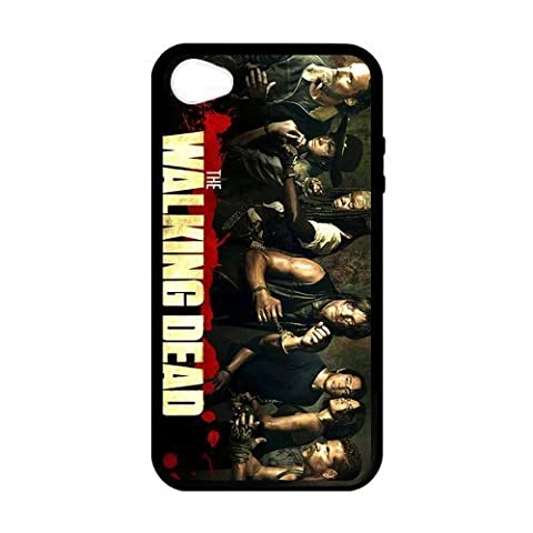 New Personalized The Walking Dead Custom Case for iPhone 4 4S BMOPOS140 (Personalized Iphone 4s Phone Case)