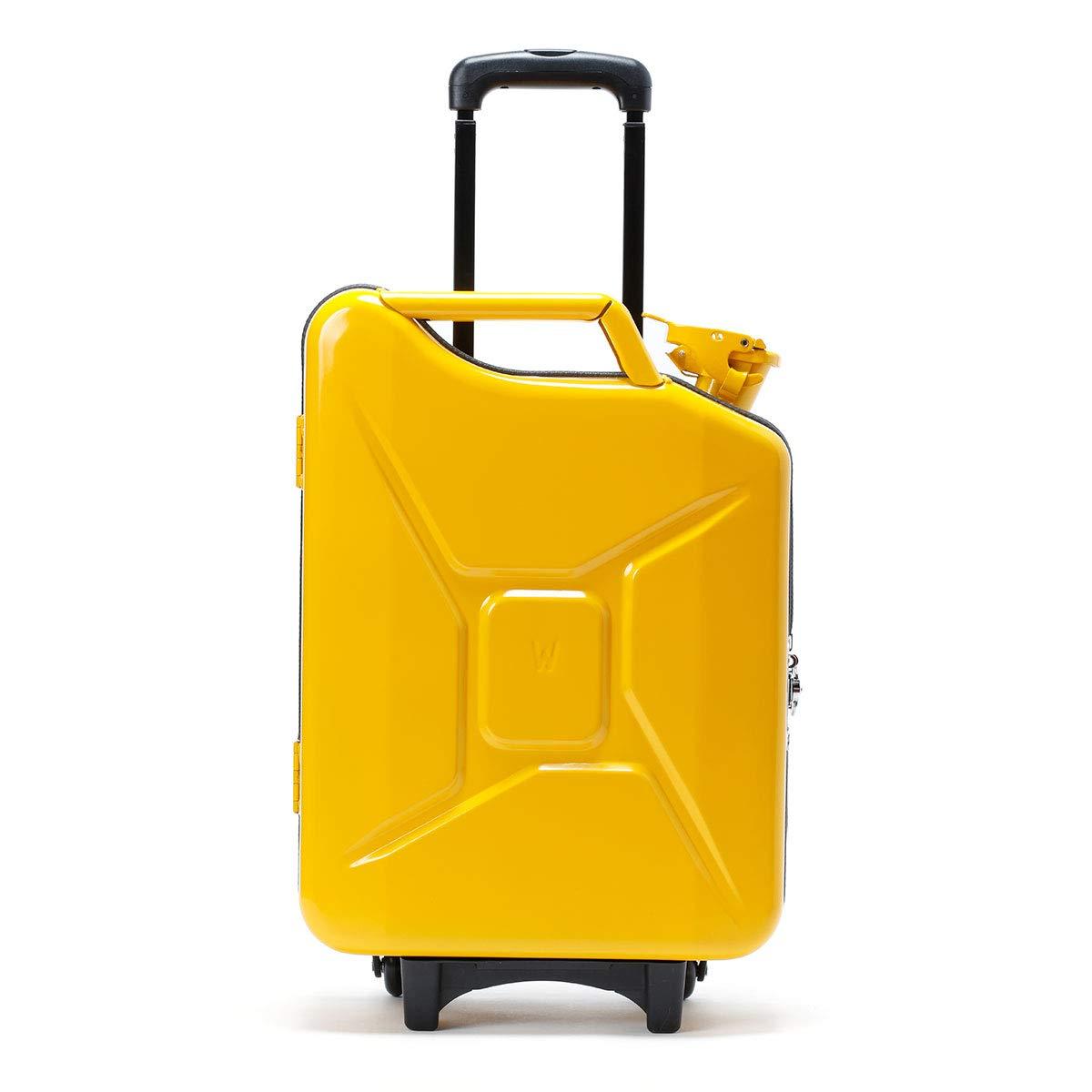 (ジーケース/G-CASE)キャリーケース イエロー Carry Case ジェリカン トラベルバック ミリタリー バッグ 機内持ち込み可能 ONE SIZE イエロー B07TSZFHXN イエロー ONE SIZE