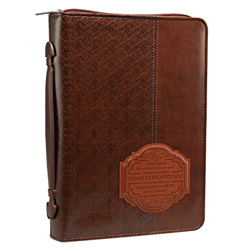Covers Leather Book Bible - Brown