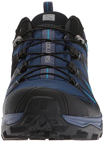 Salomon Women's X Ultra 3 GTX Trail Running Shoe, Medieval Blue/Black/Hawaiian surf, 5 B US by Salomon (Image #4)