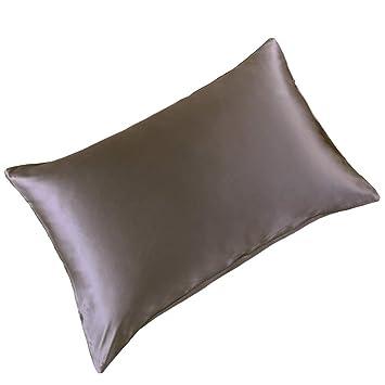 Amazon.com: THXSILK - Funda de almohada de seda para el pelo ...