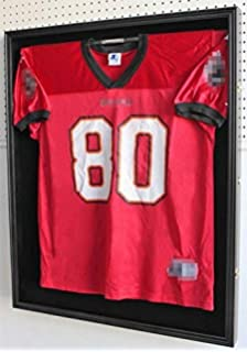 XX Large Football Hockey Uniform Jersey Display Case Frame 6e42fc9b8