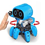 Hi-Tech First STEM Robot Kits DIY Mechanical Robot Building Set for Boys, Girls, Kids, Children (Gesture Sensing Edition)