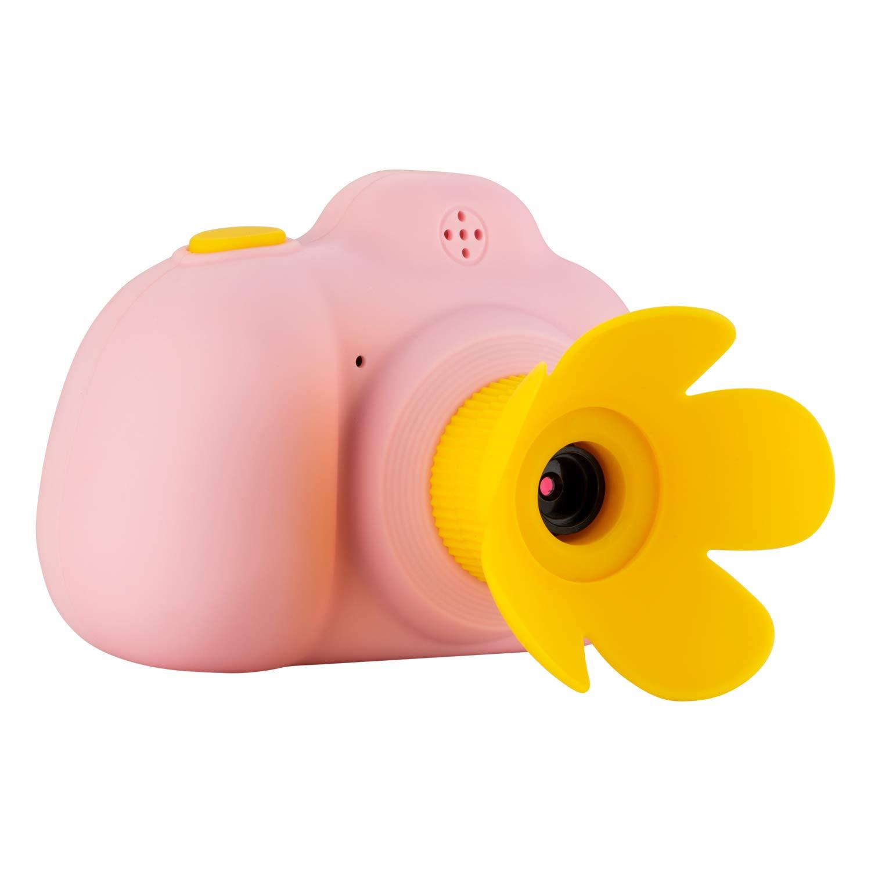 RONSHIN Automotive Children's Kids Lovely Camera New Mini SLR Digital Camera Toy Gift 15 Million Effective Pixels Pink by RONSHIN