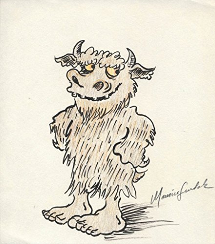 """Where the Wild Things Are"" Bernard Illustration by Maurice Sendak"
