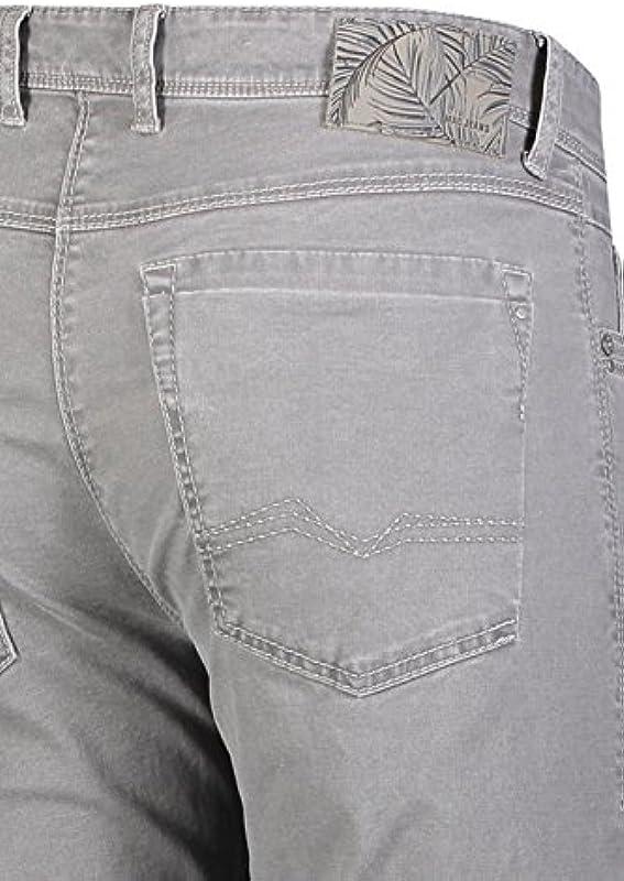 Mac spodnie męskie dżinsy nowoczesna Fit Arne Pipe grautoene: Odzież