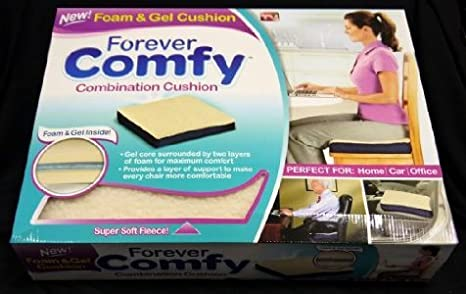 Amazon.com: Cojín FOREVER COMFY Boxed: Kitchen & Dining