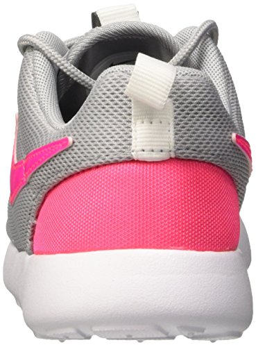 Nike Mädchen Roshe One (PS) Turnschuhe, Weiß Gris / Rosa / Blanco (Wolf Grey / Hypr Pink-Cl Gry-Wht)