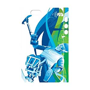 iphone 5 5s Cell Phone Case 3D Sports alpine skiing para alpine gift pjz003-9399740