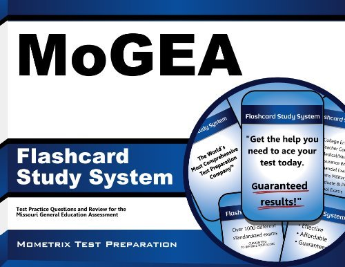 MoGEA Flashcard Study System: MoGEA Test Practice Questions & Exam Review for the Missouri General Education Assessment (Cards) by MoGEA Exam Secrets Test Prep Team (2014-01-06) Cards