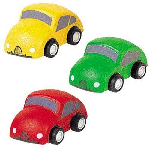 Amazon Com Plantoys 3 Piece Car Set Toys Games