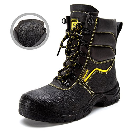 steel puncture shoes unisex safety proof industrial Black toe amp;construction work 49 shoes shoes Hx0rvdq0w1