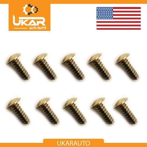 - Land Rover Series 2 2a 3 Set of 10 Floor Pan Screws OEM Part # 320045