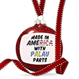Christmas Decoration Made in America with Parts from Palau Ornament