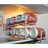 Protenrop 2854553 - Dispensador de latas, color plateado