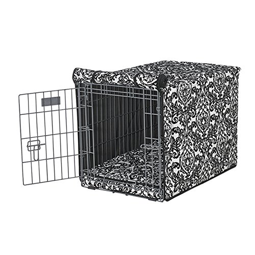 Image of Pet Supplies Bowsers Luxury Crate Cover, Medium, Herringbone