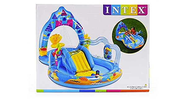 Piscina Castillo hinchable cm.279 x 160 x h140: Amazon.es: Hogar