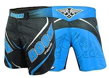 BOOM Prime Boxing Shorts Kickboxing MMA Martial Arts Muay Thai Training Fight Gear UFC