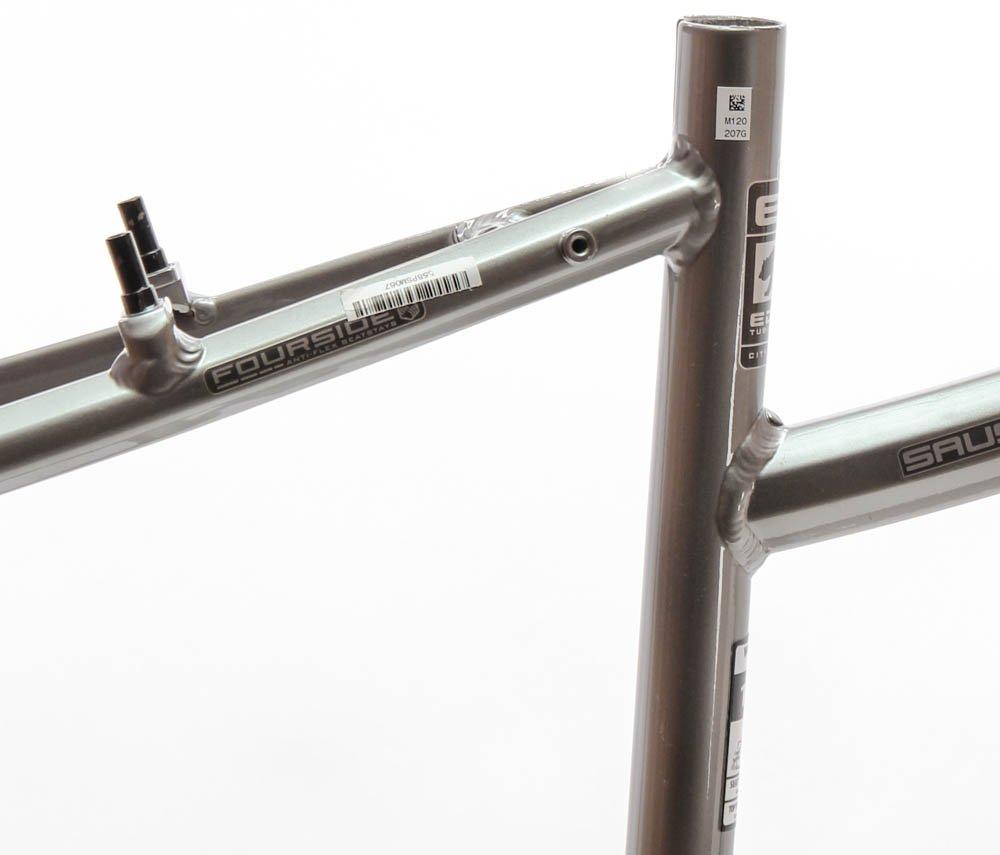 17'' MARIN SAUSALITO Women's Hybrid City 700c Bike Frame Grey Aluminum NOS NEW by Marin (Image #3)