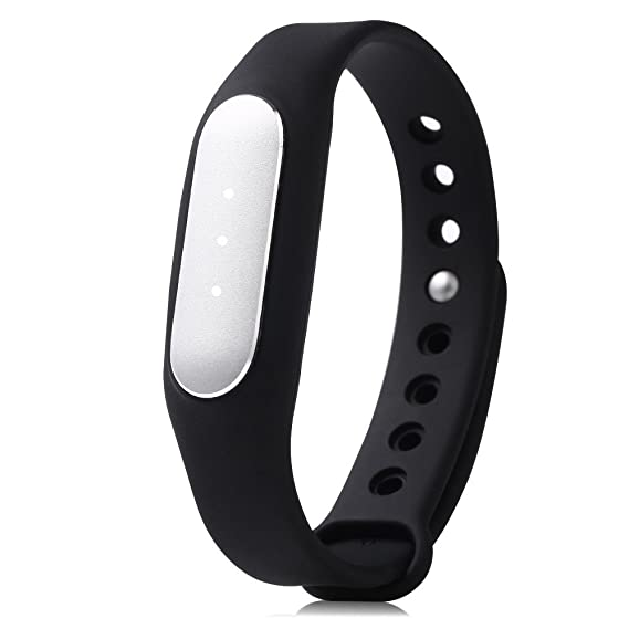 Leopard Shop Heart Rate pulsera reloj inteligente Xiaomi Mi Band 1S: Amazon.es: Relojes