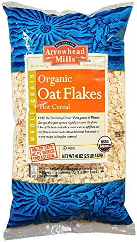 Arrowhead Mills Organic Hot Cereal Oat Flakes-2.5 pounds Arrowhead Mills Hot Cereal