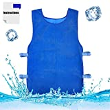 Summer Icy Cooling Vest Evaporative Cooling Vest for Men and Women for Fishing,Cycling,Running,Cooking
