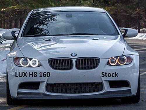 lux angel eyes lux h8 160 7000k angel eyes bmw cree. Black Bedroom Furniture Sets. Home Design Ideas