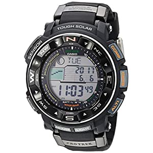 Casio Men's Pro Trek PRW2500R Tough Solar Digital Watch