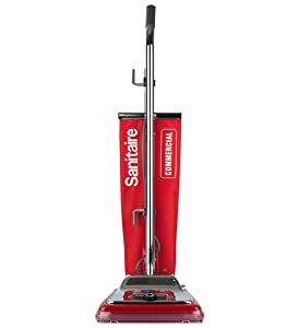 JL Sanitaire Commercial Upright Vacuum with Shake Out Bag SC886E