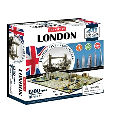 4dcityscape Time Puzzle Londra