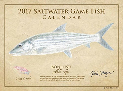 2017 Saltwater Game Fish Calendar
