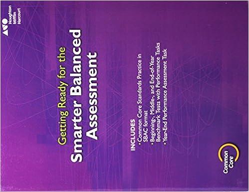 Go Math SBAC Test Prep Student Edition Grade 3 HOUGHTON