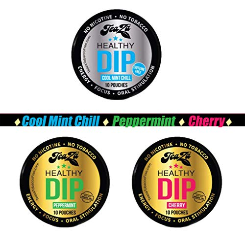 Smokeless Tobacco Alternative Helps You Quit Chewing Tobacco Snuff – Nicotine Free Tobacco Free Dip Non Tobacco Chew To…