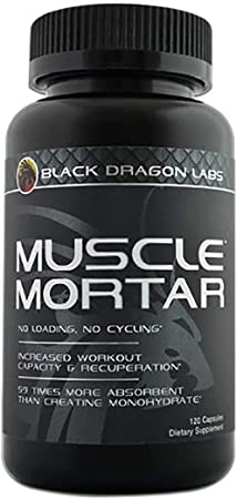 Muscle Mortar: Black Dragon Labs Has the Latest and Greatest Creatine in Muscle Mortar™. Muscle Mortar™ Contains 100% Stable Creatine Hcl. Looking to Optimize Your Workouts and Accelerate Gains? Look No Further.