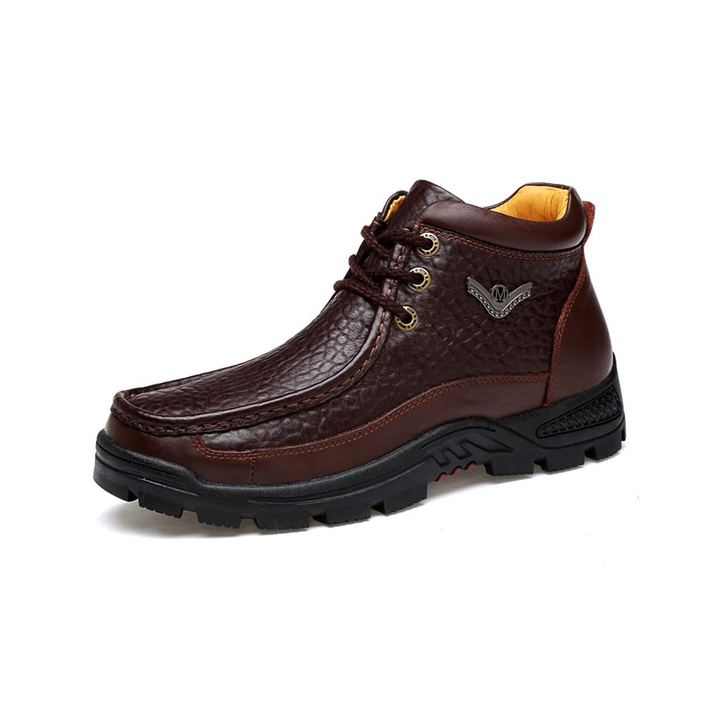 WHL.LL Herren britischer Stil Warm halten Rutschfest Werkzeugbau Martin Stiefel Nackte Gemütlich Weich Leicht Nackte Stiefel Stiefel Stiefel aus Baumwolle 7361a7