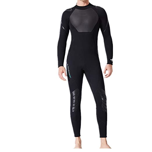 Owenqian Traje de Neopreno de Surf para Hombre Traje de Neopreno ...