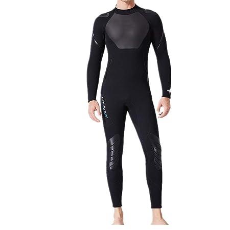 Owenqian Traje de Neopreno de Surf para Hombre Traje de ...