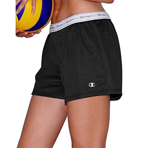 Champion Womens Mesh Shorts_Black_XL
