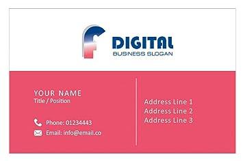 Personalisierte Logo Visitenkarten Kundenspezifische