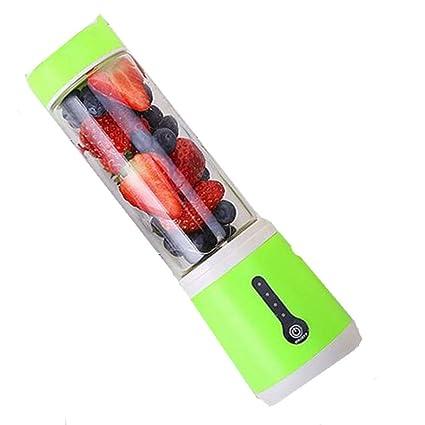 XGLL Batidora De Vaso USB Extractor De Zumo Batidora De Portátil Licuadora Exprimidora para Verduras Y