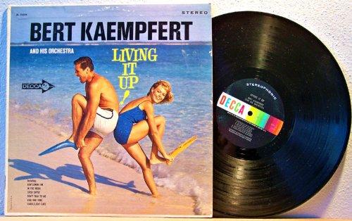 Bert Kaempfert - Bert Kaempfert And His Orch.  Living It Up  Lp - Zortam Music