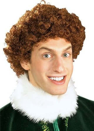 Buddy the Elf Wig Costume Accessory]()