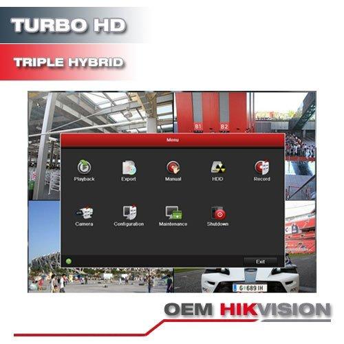 Hikvision OEM Turbo HD 16Ch Surveillance DVR System